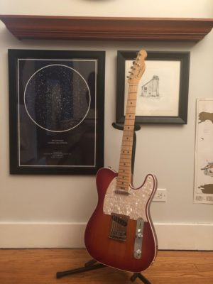 The reborn American Elite Telecaster