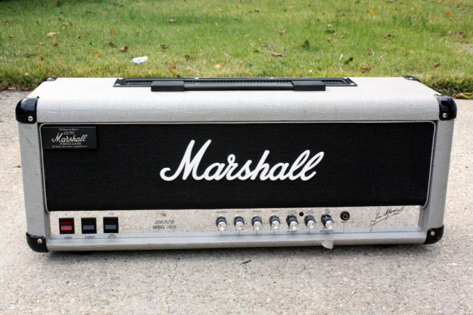 Marshall Silver Jubilee HeadMarshall Silver Jubilee Head