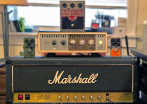 Three Big Muffs, an Ox, and a Marshall. How could you go wrong?