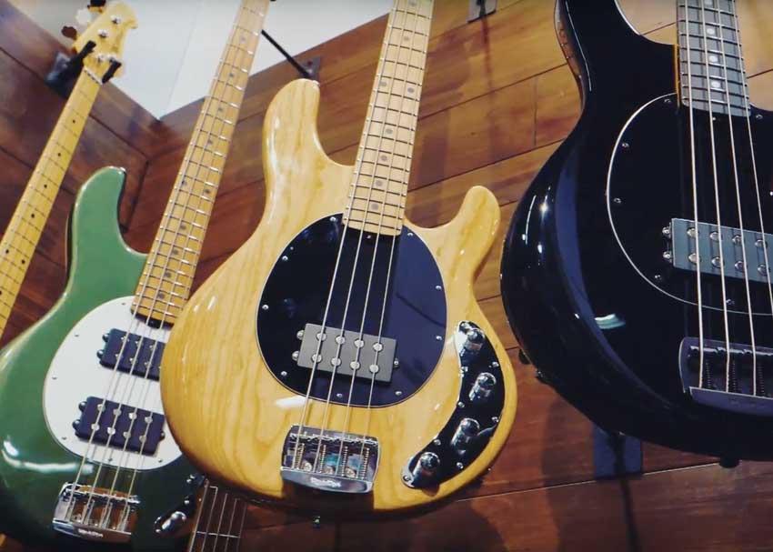 Ernie Ball Stingray Bass 2018 Interview