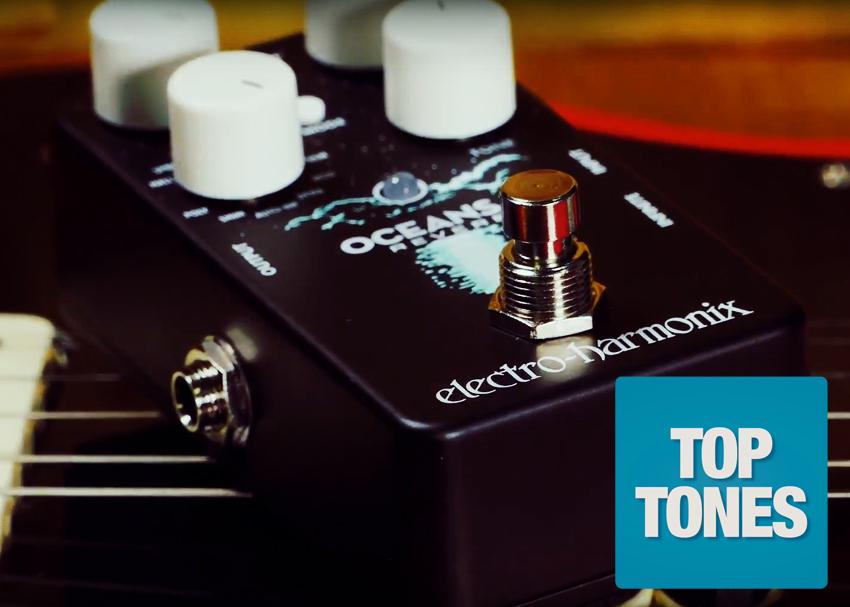Electro-Harmonix Oceans 11 Reverb Top Tones