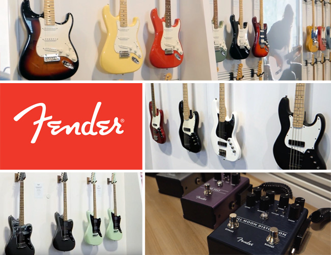 Fender at Summer NAMM 2018