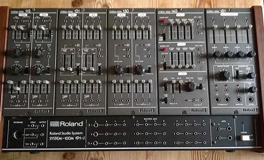 Vintage Roland System 100m