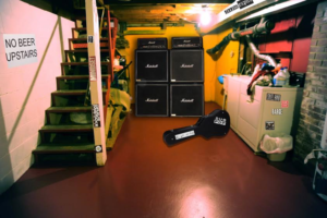 Local Band Convinced Full-Stack Amps are Necessary for Show at Doug's House - Article via The Hard Times