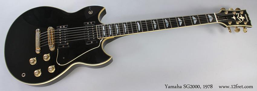 1978 Yamaha SG-2000
