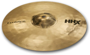 """A Sabian 20"""" hand-hammered HHX ride cymbal"""