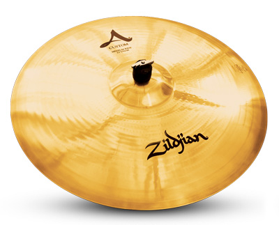 "A 22"" machine-hammered Zildjian A Custom ride"