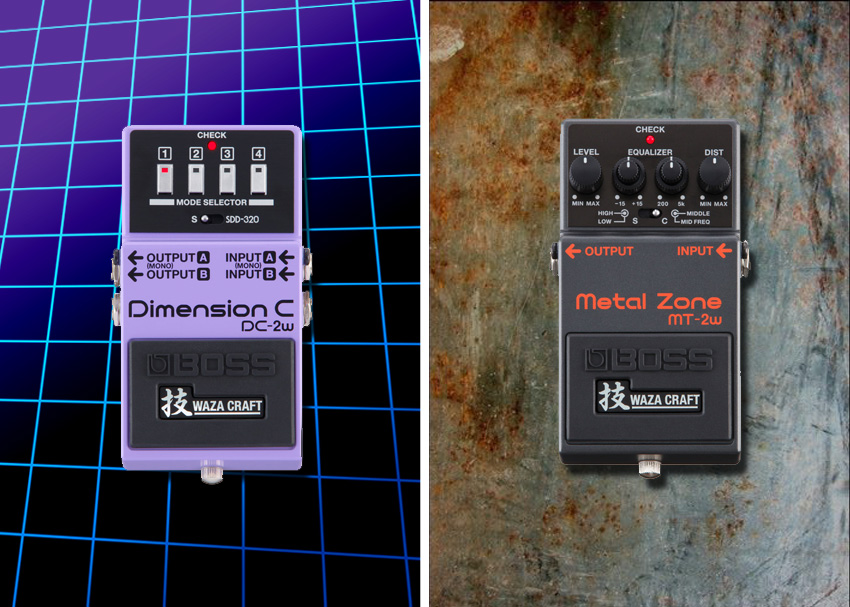 Boss announces DC-2W and MT-2W