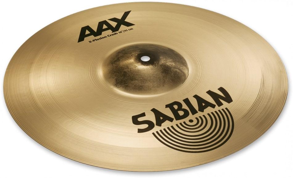 """A 16""""Sabian AAX Xplosion Crash"""