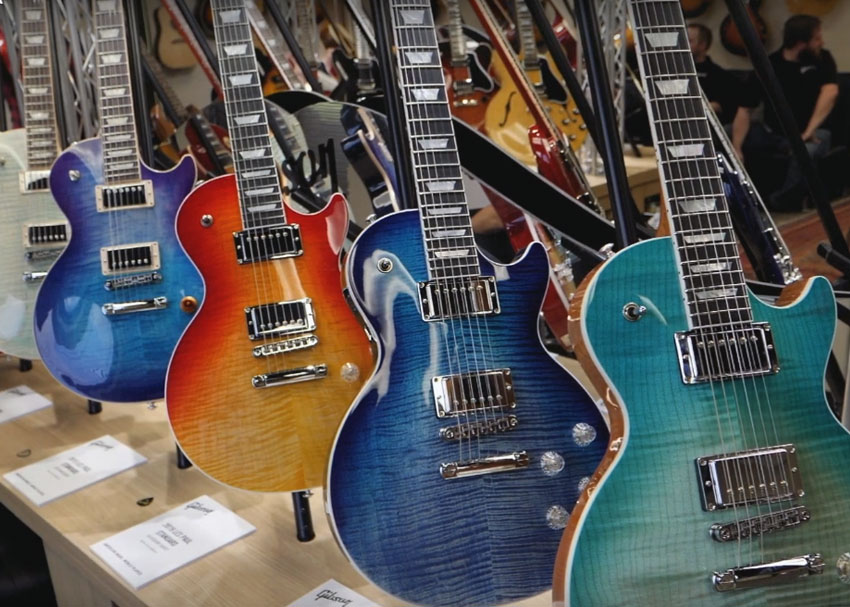Gibson 2019 Lineup