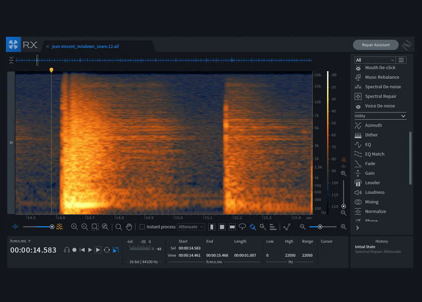 iZotope RX-7 Spectral Repair