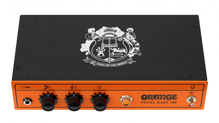Orange Pedal Baby