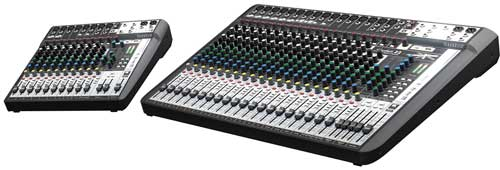 Soundcraft Signature MTK series mixers