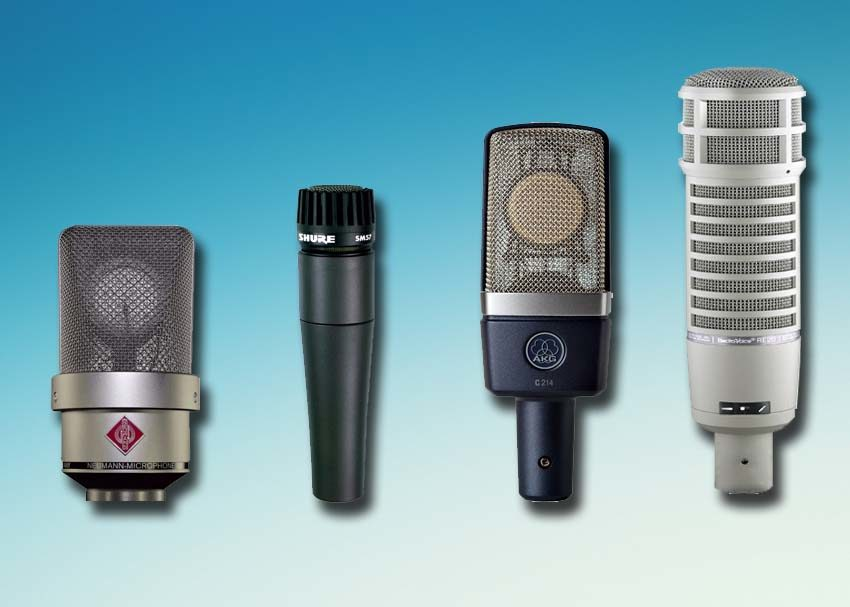 dynamic vs condenser microphones which to use zzounds music blog. Black Bedroom Furniture Sets. Home Design Ideas
