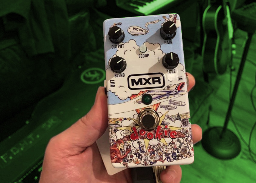 MXR Billie Joe Armstrong Overdrive Pedal