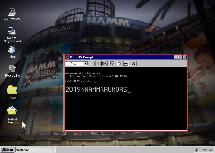 NAMM 2019 Rumors