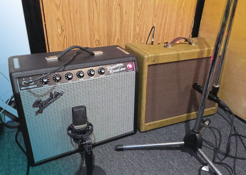 Setup with two amps