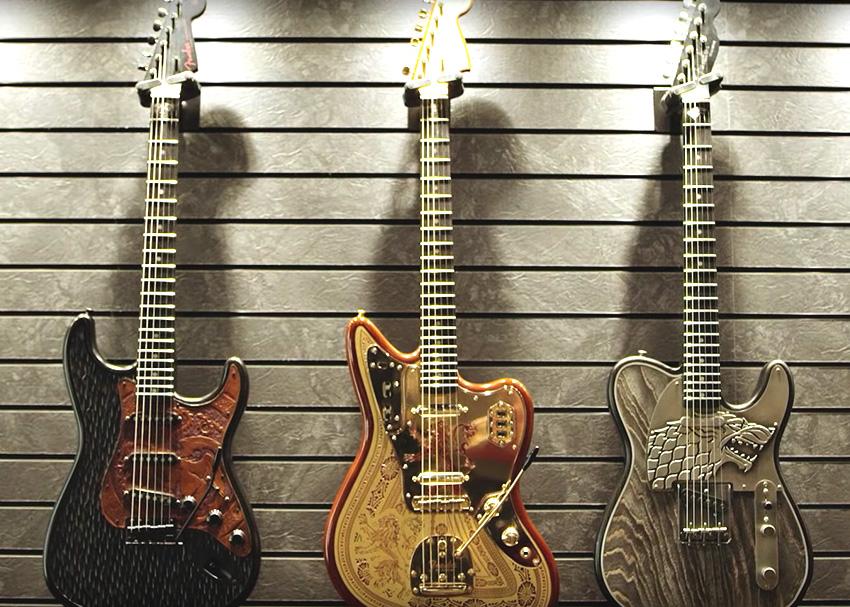 Fender Custom Shop Game of Thrones Guitars