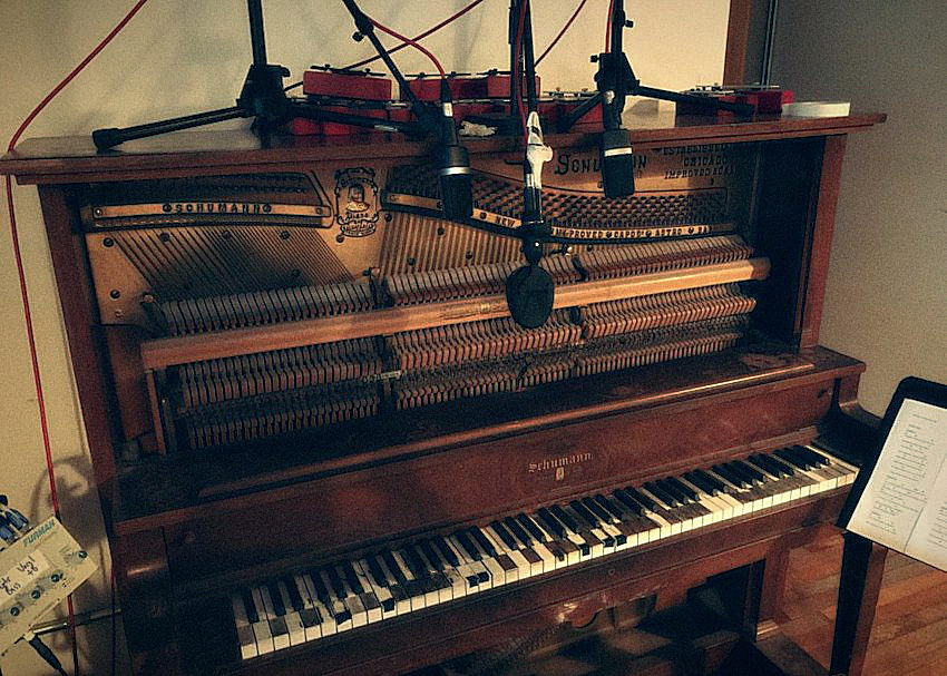 Recording an Old Upright Piano
