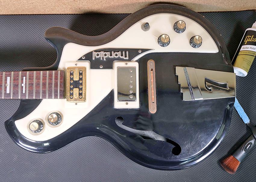 Restoring a Guitar