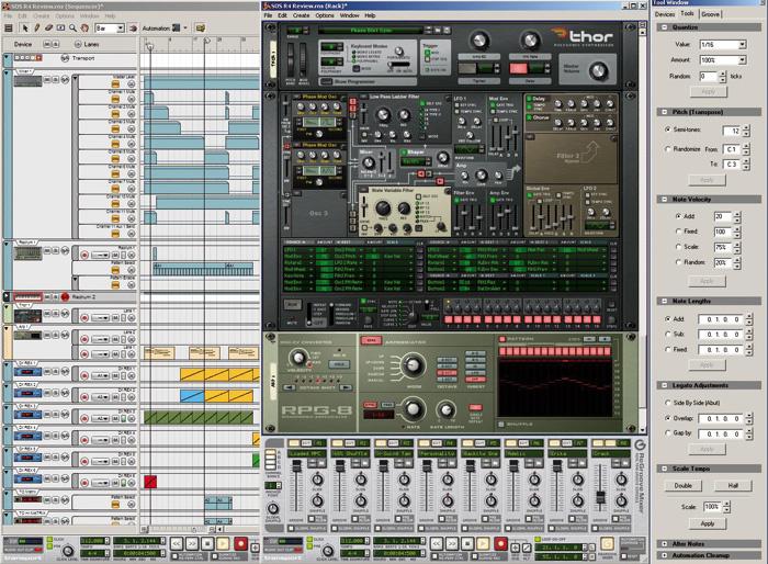 Propellerhead Reason 4 DAW software