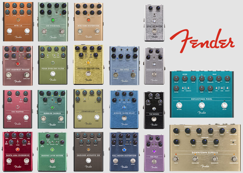 Fender Pedals: Behind The Design