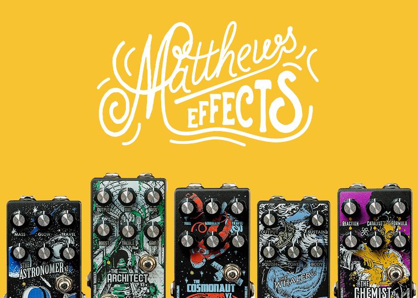 Matthews Effect Pedal Video Demos