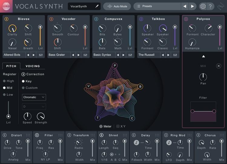 iZotope VocalSynth2
