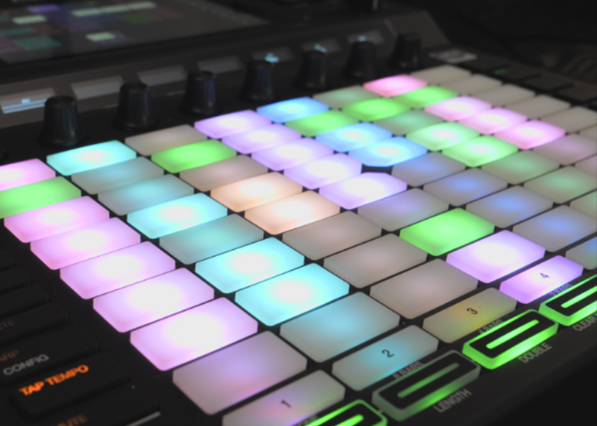 Beat-Making Gear in Action