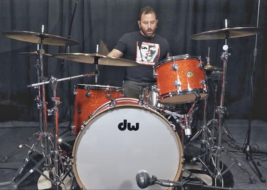Dave Elitch on Sabian HHX Cymbals