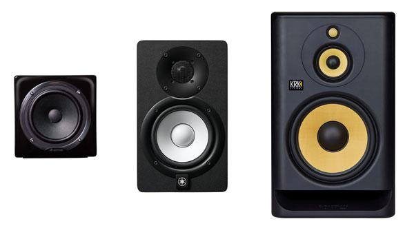 One-way, two-way, and three-way monitors