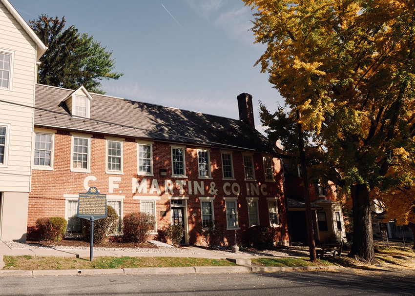 C.F. Martin Factory & Museum Tour