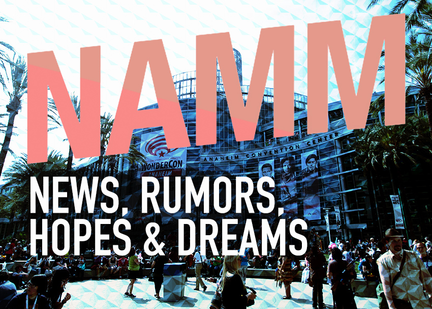 NAMM 2020 Gear News and Rumors