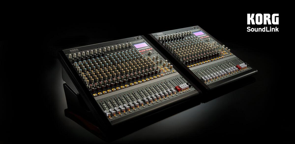 Korg SoundLink hybrid mixers