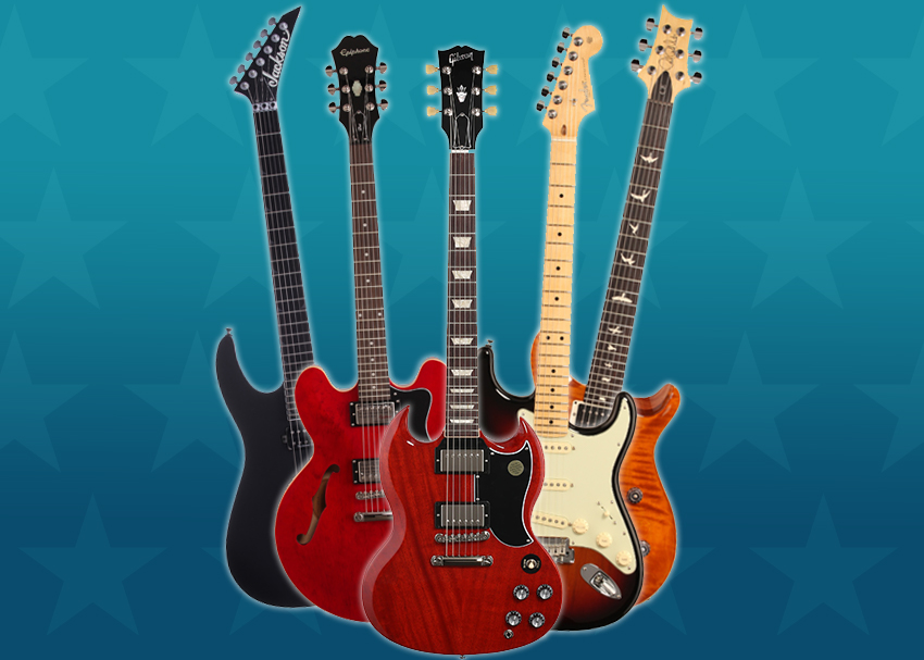 All-Star Electric Guitars in Action
