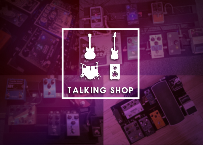 Talking Shop: Show Us Your Pedal Boards