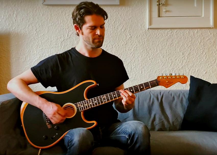Fender American Acoustasonic Stratocaster Demo