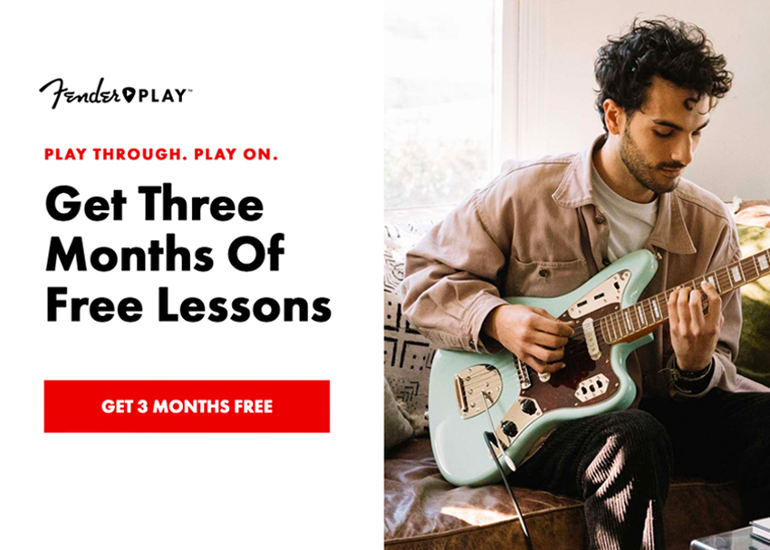 Fender Play: Get 3 Months Free