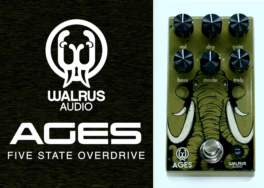 Walrus Audio Ages Overdrive Demo