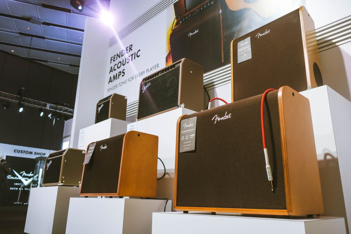 Fender's acoustic amplifier lineup.