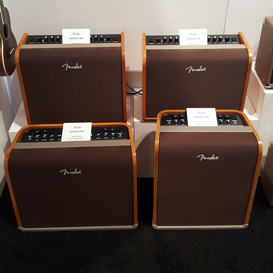 More of Fender's acoustic amplifier lineup.