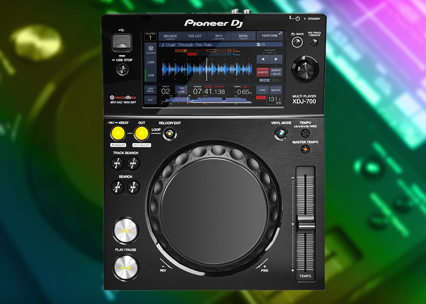 Pioneer DJ XDJ-700 Video Demo