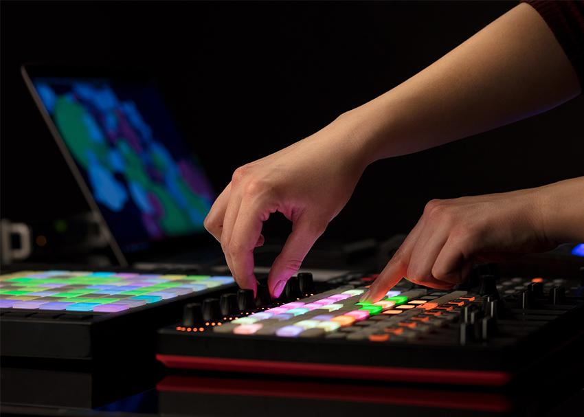 DJing with MIDI Controllers