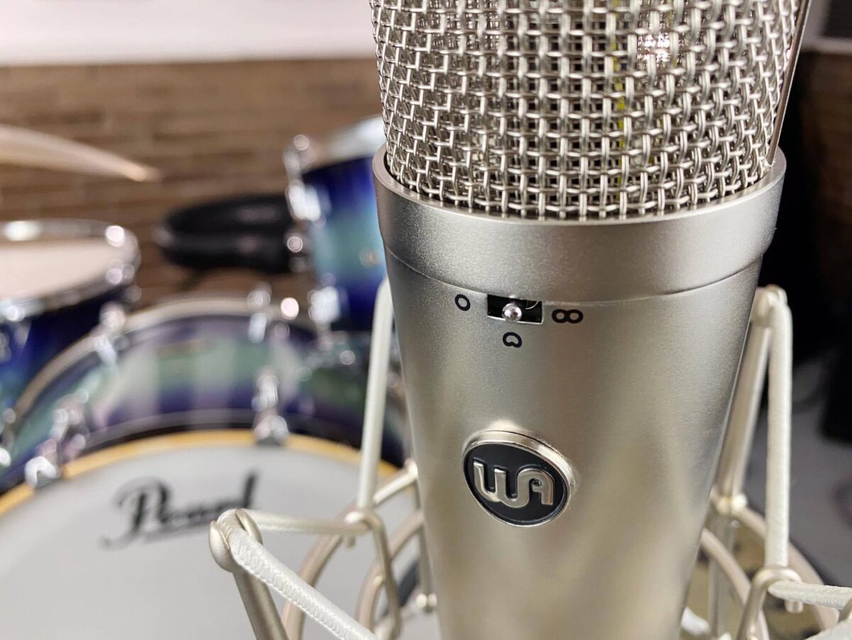 Recording Drums with One Microphone: Warm Audio WA-87R2
