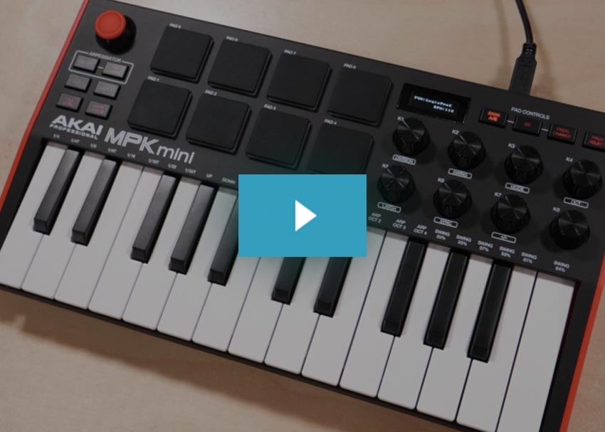 Akai MPK Mini MK3 Demo Video