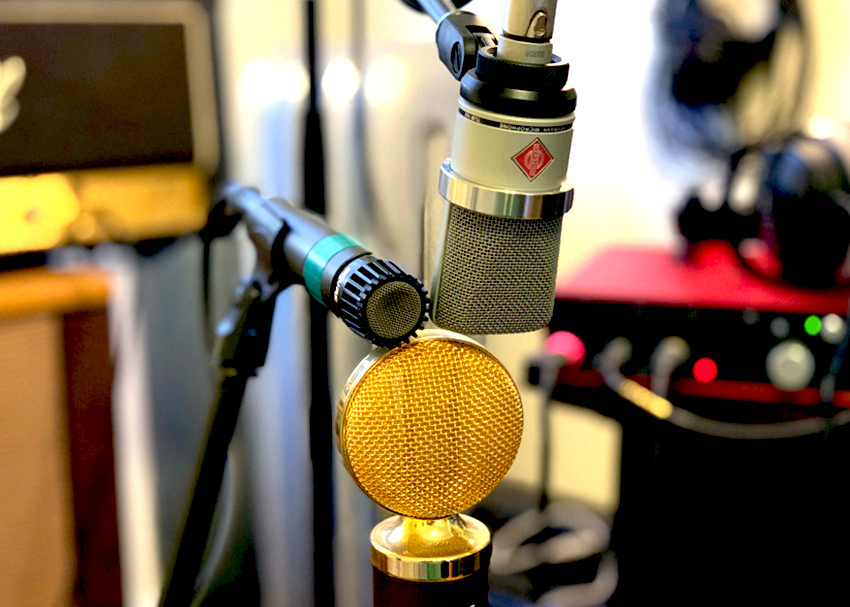Dynamic, Ribbon, and Condenser Mics