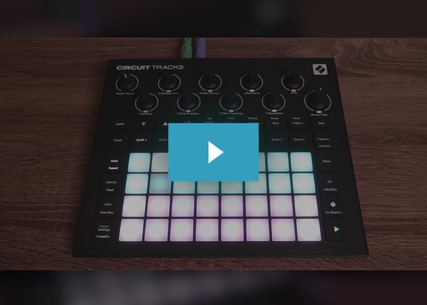 Novation Circuit Tracks Demo