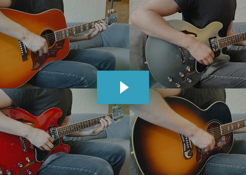 Epiphone Inspired by Gibson Demo Video