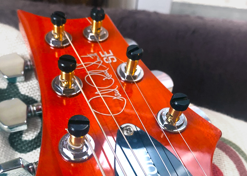 How to install PRS SE locking tuners