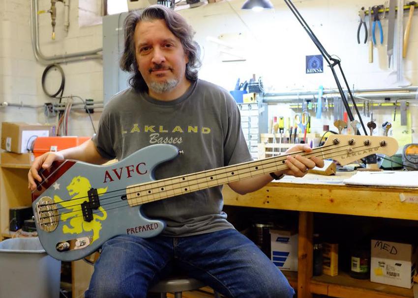 John Pirruccello Geezer Butler AVFC Bass